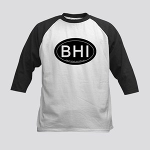Bald Head Island NC Oval BHI Baseball Jersey