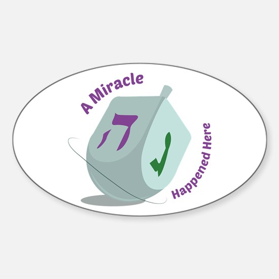 Mircale Happened Decal