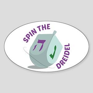 Spin The Dreidel Sticker