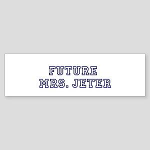 Future Mrs. Jeter Bumper Sticker