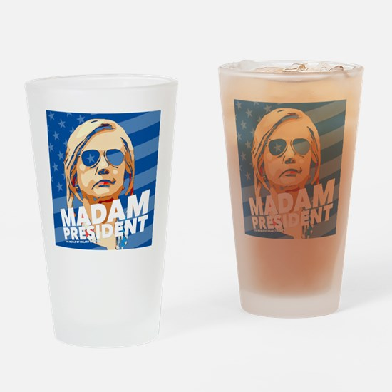 Madam President Drinking Glass