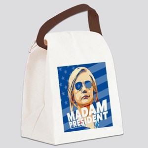 Madam President Canvas Lunch Bag