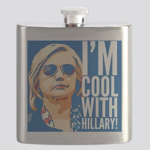 I'm cool with Hillary! Flask