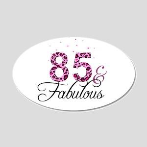85 and Fabulous Wall Sticker