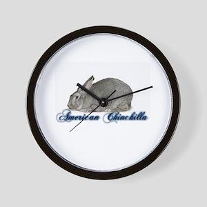 American Chinchilla Wall Clock
