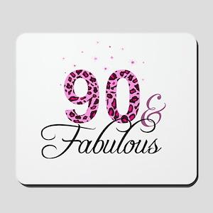 90 and Fabulous Mousepad