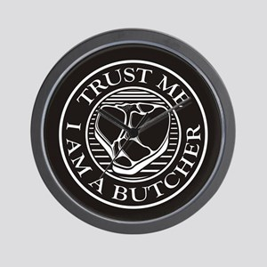 Trust me, I am a Butcher T-bone Wall Clock