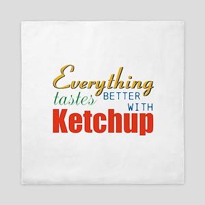 Better With Ketchup Queen Duvet