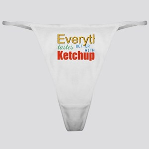 Better With Ketchup Classic Thong