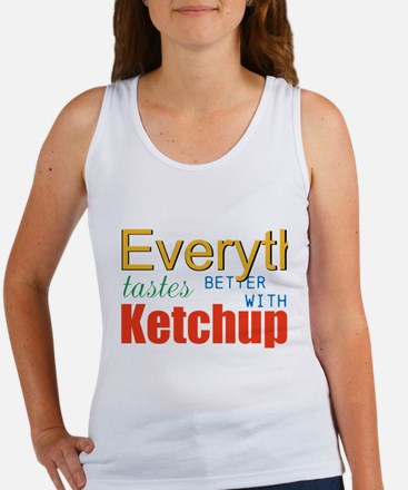 Better With Ketchup Tank Top