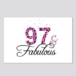 97 and Fabulous Postcards (Package of 8)