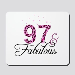 97 and Fabulous Mousepad