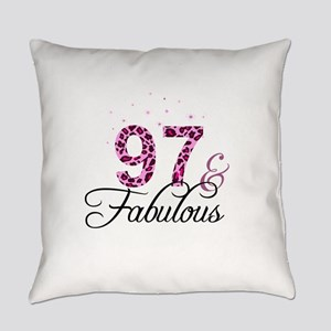 97 and Fabulous Everyday Pillow