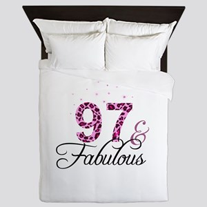 97 and Fabulous Queen Duvet