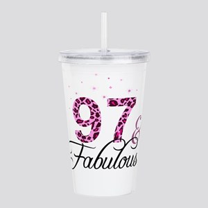 97 and Fabulous Acrylic Double-wall Tumbler