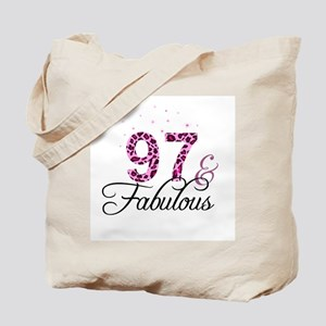 97 and Fabulous Tote Bag