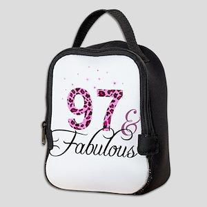 97 and Fabulous Neoprene Lunch Bag