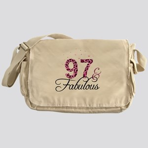 97 and Fabulous Messenger Bag