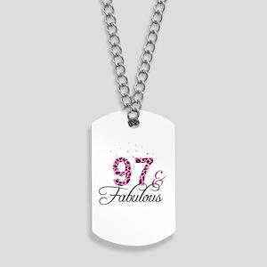 97 and Fabulous Dog Tags