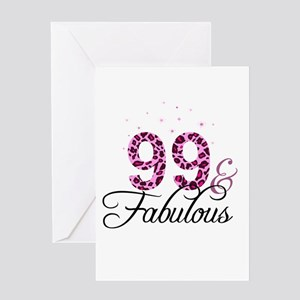 99 and Fabulous Greeting Cards