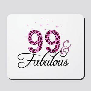 99 and Fabulous Mousepad