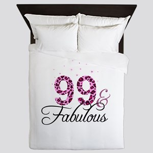 99 and Fabulous Queen Duvet