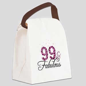 99 and Fabulous Canvas Lunch Bag