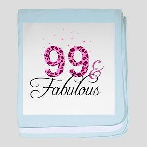 99 and Fabulous baby blanket