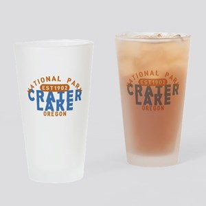 Crater Lake - Oregon Drinking Glass