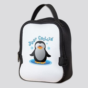 Just Chilin Neoprene Lunch Bag