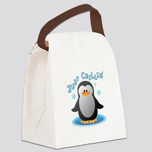Just Chilin Canvas Lunch Bag