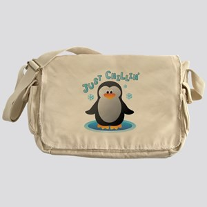 Just Chilin Messenger Bag