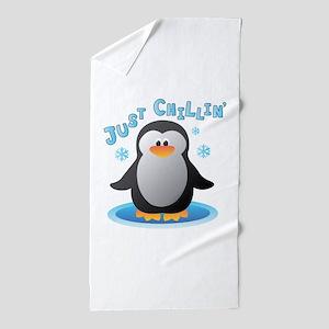 Just Chilin Beach Towel