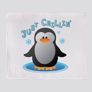 Just Chilin Throw Blanket