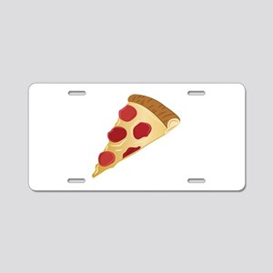 Pizza Slice Aluminum License Plate