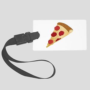 Pizza Slice Luggage Tag