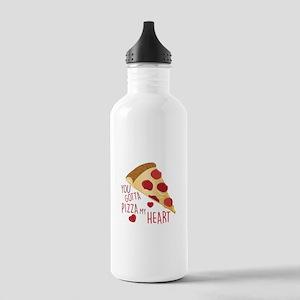 Pizza My Heart Water Bottle