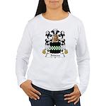 Boiseau Family Crest Women's Long Sleeve T-Shirt