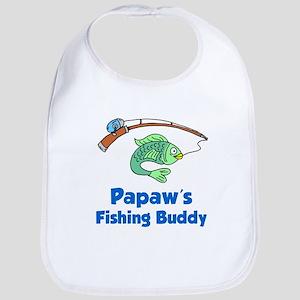 Papaws Fishing Buddy Bib