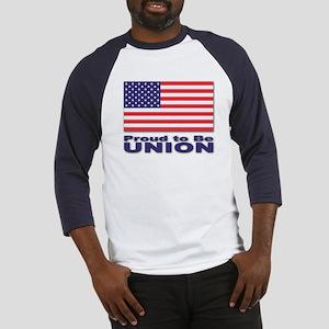 Proud to be Union Baseball Jersey