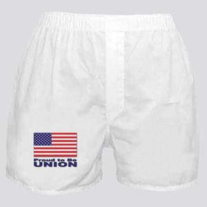 Proud to be Union Boxer Shorts