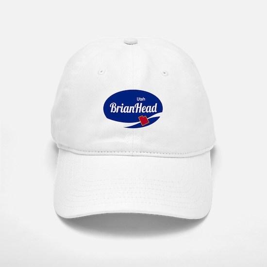 Brian Head Ski Resort Utah oval Baseball Baseball Cap