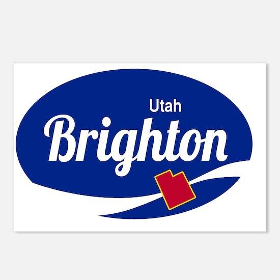 Brighton Ski Resort Utah Postcards (Package of 8)