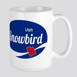 Snowbird Ski Resort Utah oval Mugs