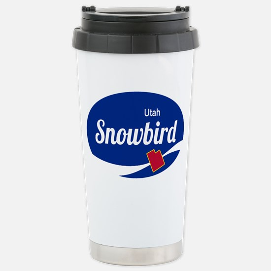 Snowbird Ski Resort Uta Stainless Steel Travel Mug