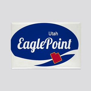 Eagle Point Ski Resort Utah oval Magnets