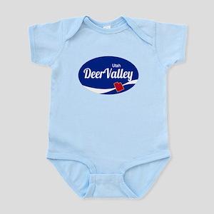 Deer Valley Ski Resort Utah oval Body Suit