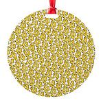 School of Clownfish Pattern Ornament