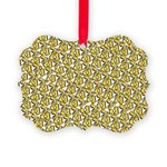 School of Clownfish Pattern Ornament