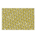 School of Clownfish Pattern Postcards (Package of